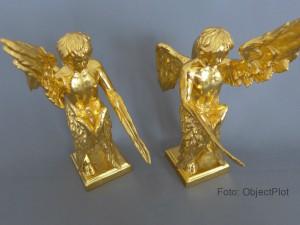 Faszinierende Reproduktion der Original Logen Engel