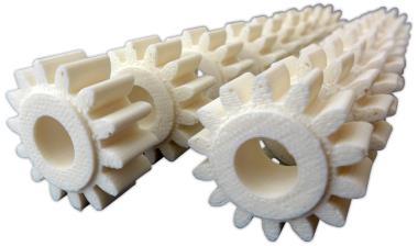 Funktionszahnräder Förderband /FDM-Druck/Material ABS