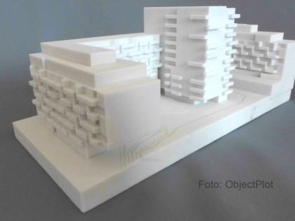 Modell Wohnkomplex