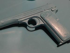 Attentats-Pistole des 1. Weltkrieges erstmals als 3D Druck – Replik gefertigt